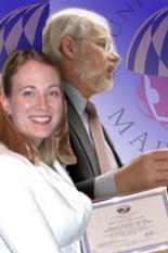 Lauren Schneider And Dr. Richard McCuen