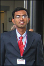 Mechanical Engineering graduate student Arun Kota.