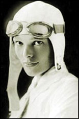 Amelia Earhart was a Zonta club member who is remembered by the award with a scholarship that would further her deep interest in the science of aeronautics.