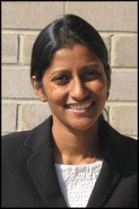 Ph.D. candidate Gayatri Cuddalorepatta