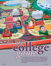 Fischell Department of Bioengineering undergraduate student Steven Graff was interviewed for an article called 'The College Game.' (From Quest, Vol. 14, no. 4.)