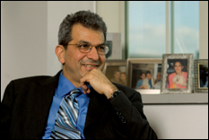 Nariman Farvardin, former Clark School dean and current UM provost. (Photo by Bill Geiger)