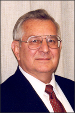 2007 inductee Raymond J. Krizek '61