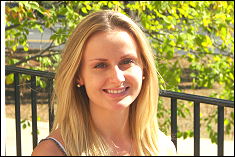 Vanessa Gentzen, recipient of the very first Aerospace Corporation Graduate Fellowship award