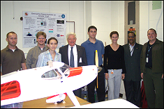 On Monday October 15th, the Morpheus Lab received a visit from Dr. Donald Fraser, former Deputy Undersecretary of Defense under Dick Chaney during the<br />