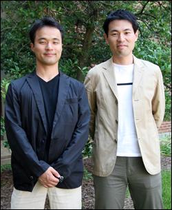 Tetsuaki Nakano and Kensuke Iwanaga