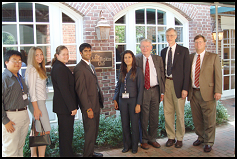 2008 Mather Scholars with Dr. Mather (second from right)
