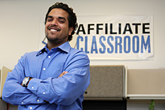 Anik Singal, Hinman CEOs alumnus and CEO of TAP company Affiliate Classroom Inc.