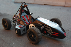 A Maryland Formula SAE race car