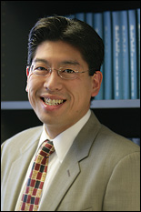 Assistant Professor Adam Hsieh.