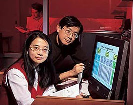 Prof. Min Wu (left) and Prof. Ray Liu (right).