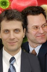 Drs. Eric Seagren and Ahmet Aydilek