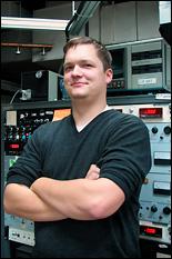 Sebastian Engelmann (Ph.D. '08, materials science and engineering).