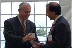 Dr. Michael Azarian receives the 2009 Systems Engineering Excellence Group Award from NDIA.