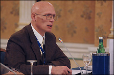 Professor Raymond Phaneuf at the Aspen Institute Italia's Transatlantic Dialog.