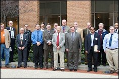 Attendees at the Symposium on Cooperative Research on Traumatic Brain Injury
