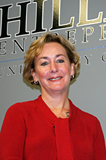 Pictured; Carolyn Karlson, new director of the Hillman Entrepreneurs Program