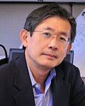 Professor K. J. Ray Liu        (Photo by Jess Molina)