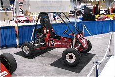 A recent edition of the Terps Racing Baja vehicle.