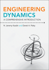 The cover of Engineering Dynamics: A Comprehensive Introduction.