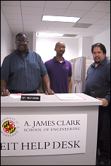 Left-Right: Ken Bentley, D'Mario Headen and Glenn Campbell