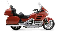 The new Honda Gold Wing motorcycle