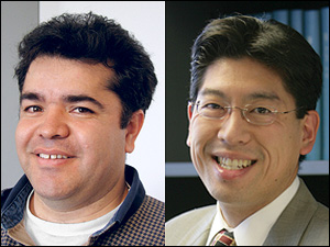 Left: Helim Aranda-Espinoza. Right: Adam Hsieh.