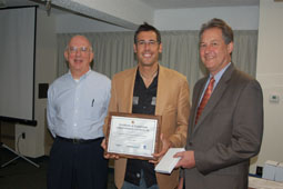 Left to right: Phil Tarnoff, Founder and Principal of the Operations Academy; Chris Clement, October 2009 Operations Academy Graduate and New Commissioner of New Hampshire DOT; Jeff Paniati, Executive Director, FHWA