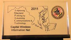 CapWIN's IMPACT award