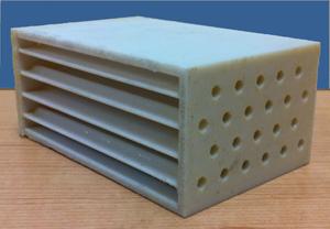 New 3d Printed Plastic Heat Exchanger Shows Complex