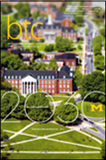 February 2012 edition of Between the Columns, University of Maryland.