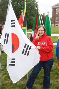 ChBE sophomore and Boren Scholarship winner Lisa Wiest.