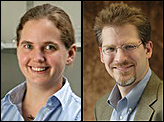 Dr. Sarah Bergbreiter and Dr. Kenneth Kiger