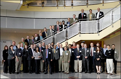 Attendees at the 2012 Robust Wide Bandgap (WBG) Semiconductor Power Electronics Workshop, co-hosted by Argonne National Laboratory and the University of Maryland.