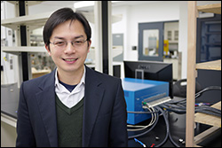 MSE and UMERC professor Liangbing Hu.