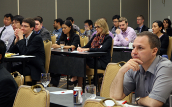 More than 100 alumni, industry and government professionals, faculty and students attended the ISR Alumni Symposium on April 19, 2013.