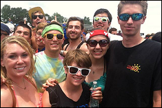 EWB-UMCP members at Bonnaroo