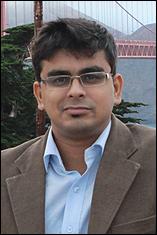 Ph.D. candidate Subhasis Mukherjee