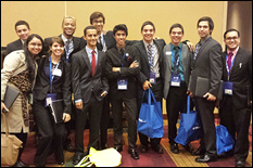 SHPE-UMD students at the 2013 National Society of Hispanic Professional Engineers Conference.