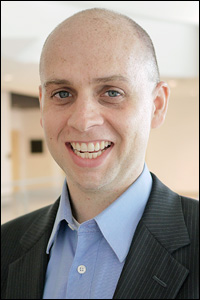 Fischell Department of Bioengineering (BioE) Assistant Professor Christopher M. Jewell