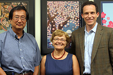 Pictured, left to right, from A&G Pharmaceutical: Jun Hayashi, co-founder and VP of research & development; Ginette Serrero, co-founder and CEO, and Michael Keefe, chief operating officer. A&G is conducting a prospective clinical study to examine the potential of the company's GP88 biomarker as a blood test for early breast cancer screening through its MIPS grant.