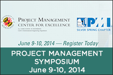 Project Management Symposium, June 9-10, 2014