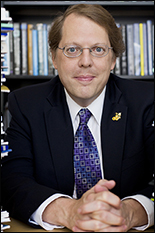 Professor David Bader, ECE alumnus and founder of ECE GSA, is named Chair of Georgia Tech's CSE. Photo courtesy of Raftermen Photography