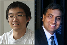 From L-R: Professor Gang Qu and Professor Ankur Srivastava