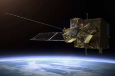 Image Caption: A tethered harpoon system to capture derelict satellites is being studied for ESA's e.DeOrbit mission, part of the Agency's Clean Space initiative to tackle orbital debris while also reducing the impacts of the space industry on the terrestrial environment. The harpoon would be fired into the satellite structure to secure it, allowing it to be reeled in and mated. Credit: Airbus Defence and Space