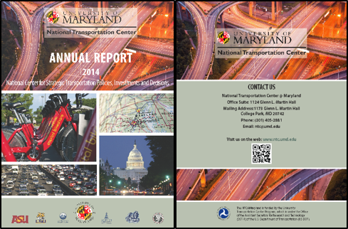 Full Size Image: NTC@Maryland Annual Report 2014 Cover Page