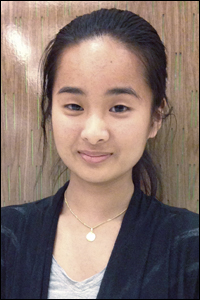 ChBE sophomore Catherine Nguyen.