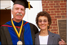 Dr. William Fourney and wife,Connie