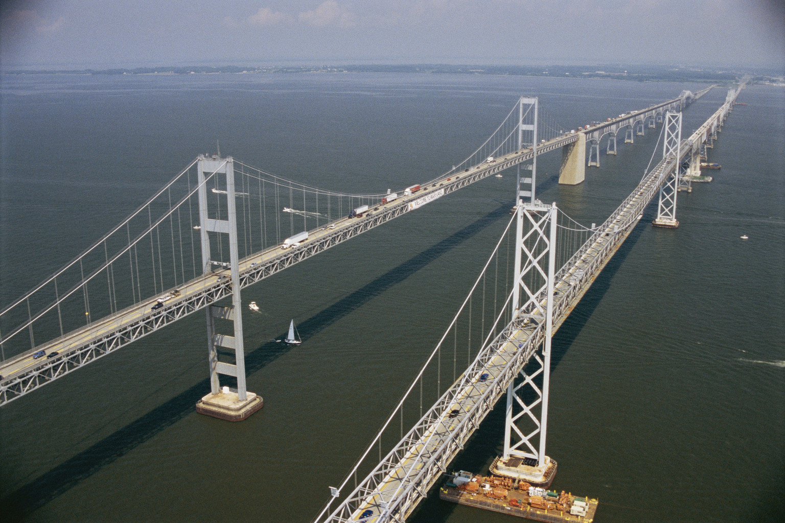 Full size image: The Chesapeake Bay Bridge