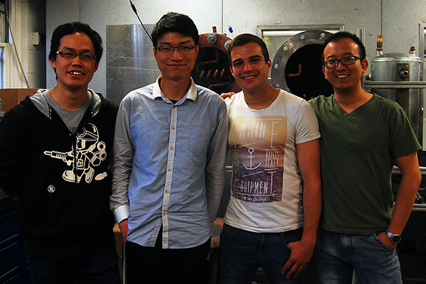 Visiting students Oliver Schmid, Ji Wang, Nan Zheng, and Zili Yang have ventured to the United States to join the CEEE and pursue their work.
